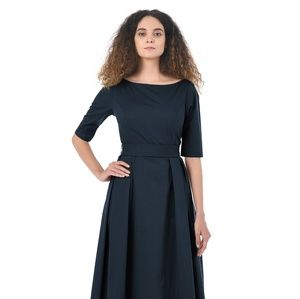 Eshakti Navy Quincy Dress